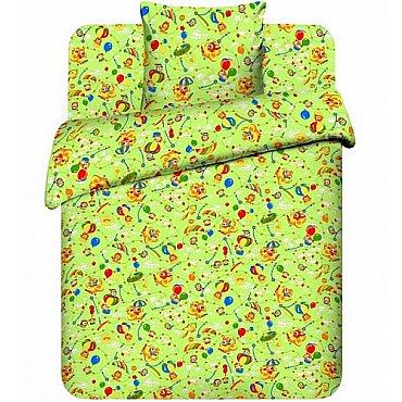 """Комплект постельного белья """"На воздушном шаре-3"""" 3667-3 (бэби)"""