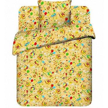 """Комплект постельного белья """"На воздушном шаре-4"""" 3667-4 (бэби)"""