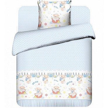 """Комплект постельного белья """"Плюшевые мишки-1"""" 3975-1 (бэби)"""