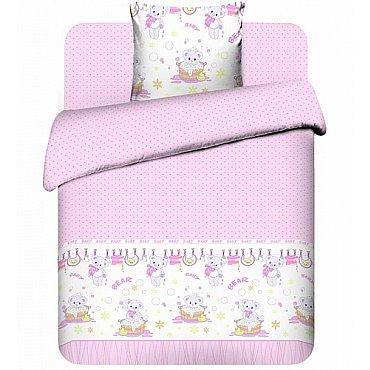 """Комплект постельного белья """"Плюшевые мишки-2"""" 3975-2 (юниор)"""