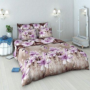 """Комплект постельного белья """"Магнолия"""" 4151 (евро)"""
