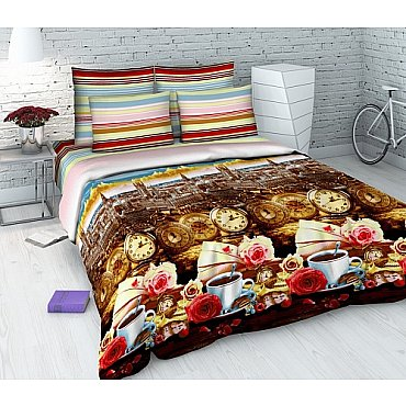 """Комплект постельного белья """"Утро в Лондоне"""" 4312 (семейное)"""