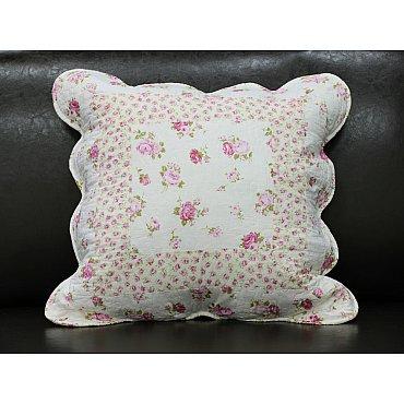 Наволочка Provance, Белый, Розовый, 45*45 см