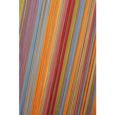 Кисея нитяная штора на кулиске радуга №104
