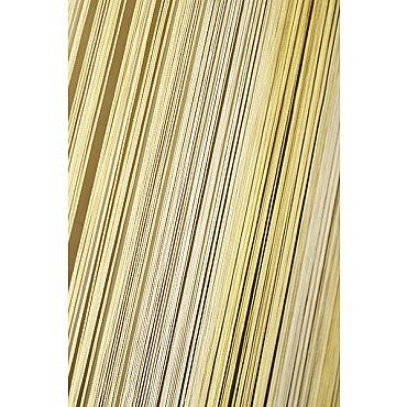 Кисея нитяная штора на кулиске радуга №121