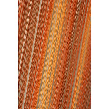 Кисея нитяная штора на кулиске радуга №124