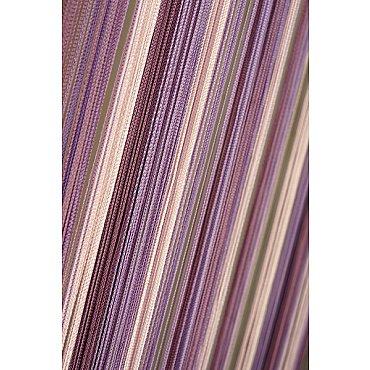 Кисея нитяная штора на кулиске радуга №126