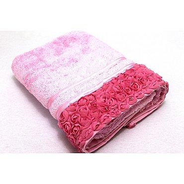 Полотенце Roses, розовый 50*90