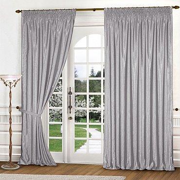 Комплект штор К301-12, светло-серый, 150*270 см