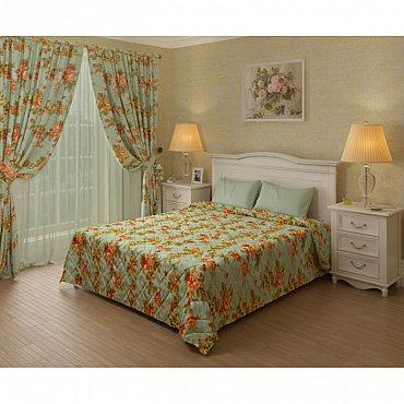 Комплект для спальни Азалия, светло-зеленый
