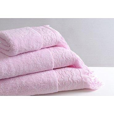Полотенце махровое Infinity Розовое 50*90 см