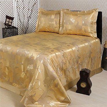 Покрывало Nazsu Akasya, золотой, 240*260 см