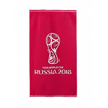 """Полотенце махровое """"FIFA Кубок"""", красный, 50*90 см"""