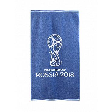 """Полотенце махровое """"FIFA Кубок"""", синий, 50*90 см"""