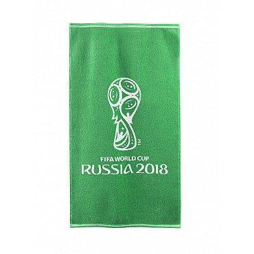 """Полотенце махровое """"FIFA Кубок"""", зеленый, 50*90 см"""