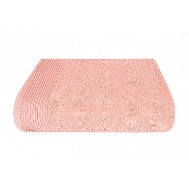 "Полотенце ""Aquarelle Палитра"", розово-персиковый, 50*90 см"