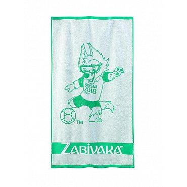 """Полотенце махровое """"FIFA Забивака"""", зеленый, 35*55 см"""