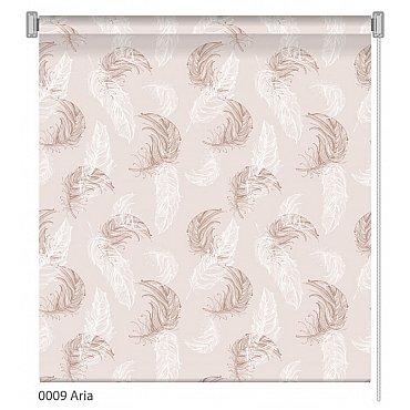 """Рулонная штора ролло """"Aria"""", дизайн 0009, 140 см"""