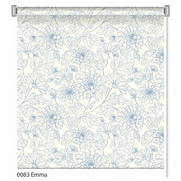 """Рулонная штора ролло """"Emma"""", дизайн 0083, 120 см"""