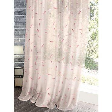 Комплект штор Лофт Вуаль Flamingo, 150*270 см
