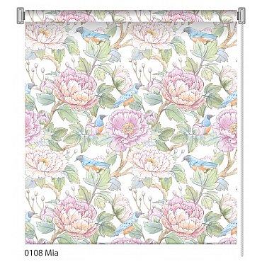 """Рулонная штора ролло """"Mia"""", дизайн 0108, 80 см"""