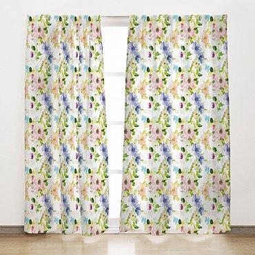"""Комплект штор """"Цветущий сад"""", 165*270 см"""