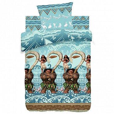 КПБ 1.5 хлопок 'Моана' (70х70) рис. 9032-1/9033-1 Моана и Мауи