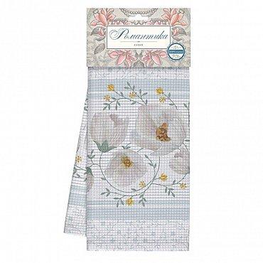 Комплект полотенец вафельных 50*70 (2шт) 'Романтика' Аромат жасмина