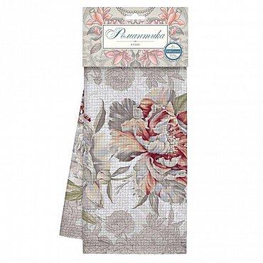 Комплект полотенец вафельных 50*70 (2шт) 'Романтика' Душистый пион