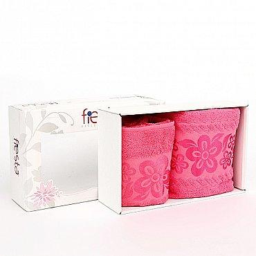 """Набор полотенец """"Belissimo"""", розовый, 2 шт."""