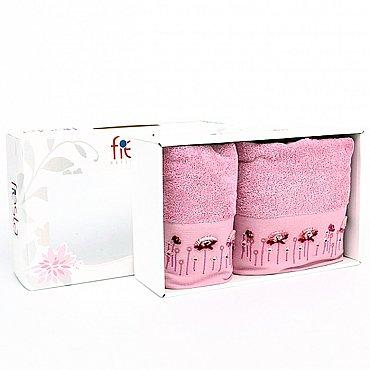 """Набор полотенец """"Summer"""", розовый, 2 шт."""