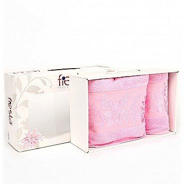"""Набор полотенец """"Verona"""", розовый, 2 шт."""