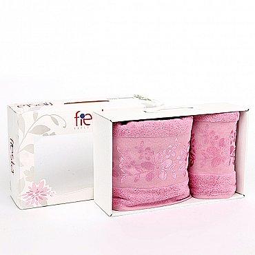 """Набор полотенец """"Verona"""", темно-розовый, 2 шт."""
