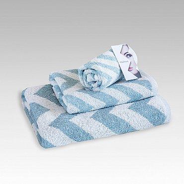 "Полотенце махровое ""Фрешлук"" Cool Blue, голубой"