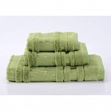 """Полотенце банное """"Bamboo CL"""", зеленый, 70*140 см"""