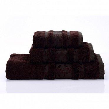 """Полотенце банное """"Bamboo PR"""", коричневый, 70*140 см"""