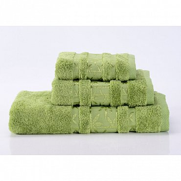 """Полотенце банное """"Bamboo PR"""", зеленый, 50*90 см"""