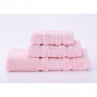 """Полотенце банное """"Bamboo PR"""", светло-розовый, 40*70 см"""