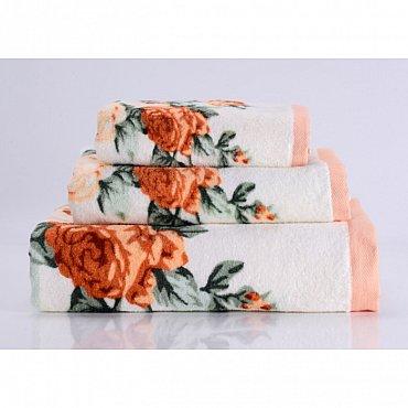 """Полотенце банное """"Rosy"""", оранжевый, 70*140 см"""