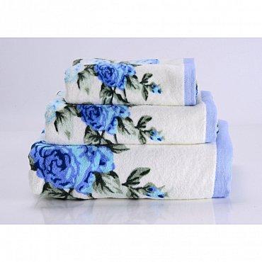 """Полотенце банное """"Rosy"""", голубой, 70*140 см"""