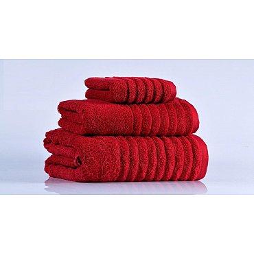 Полотенце махровое Wella Красное  70*130 см