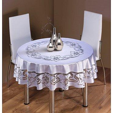 Скатерть Wisan №059В, серый, 150 см