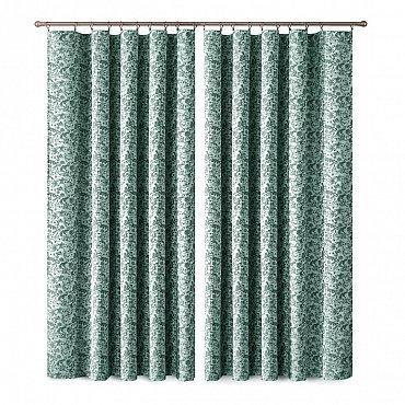 Комплект штор Primavera №1110043, зеленый