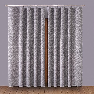 Комплект штор Primavera №5, серый