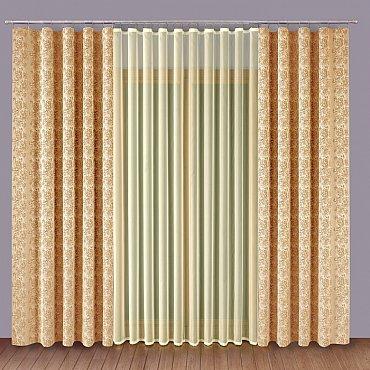 Комплект штор Primavera №1110170, кремовый