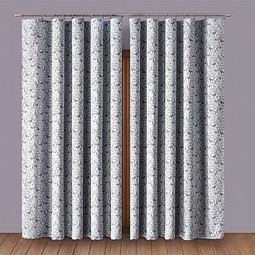 Комплект штор Primavera №7, серый
