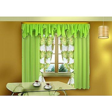 Комплект штор для кухни №55657