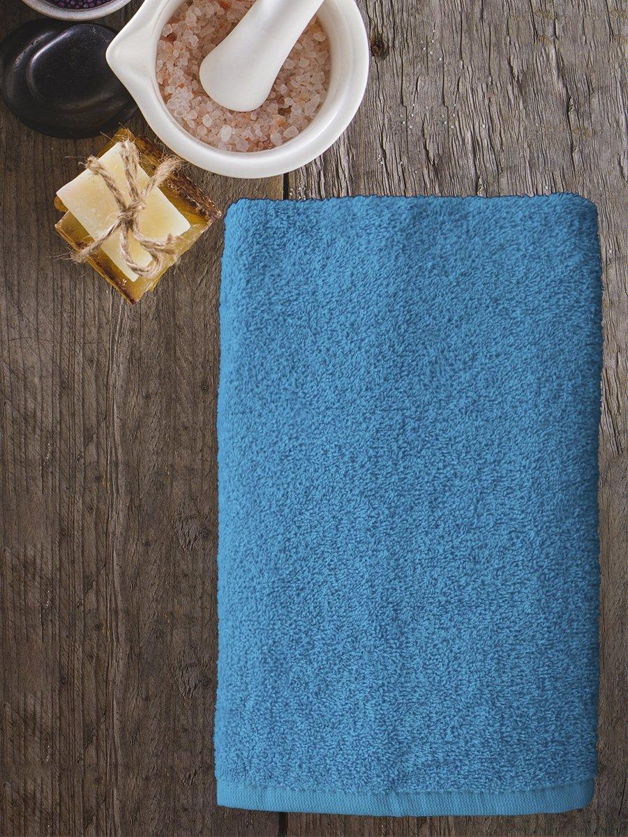Полотенце махровое Amore Mio AST Cotton, голубой (tr-200727-gr)