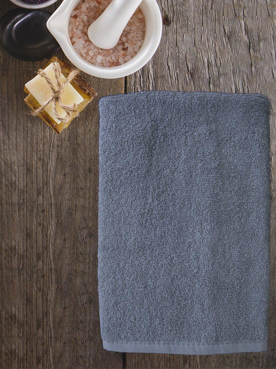 Полотенце махровое Amore Mio AST Cotton, серый (tr-200731-gr)