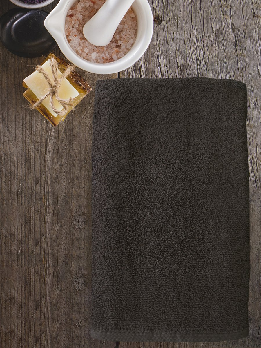 Полотенце махровое Amore Mio AST Cotton, коричневый (tr-200733-gr)